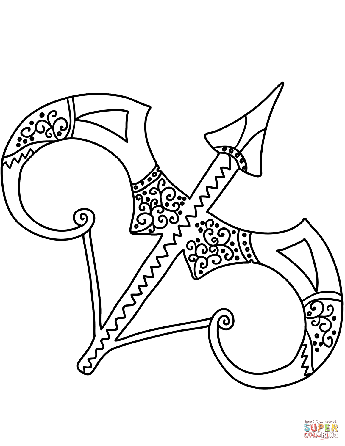 zodiac coloring pages sagittarius zodiac sign coloring page free printable coloring zodiac pages