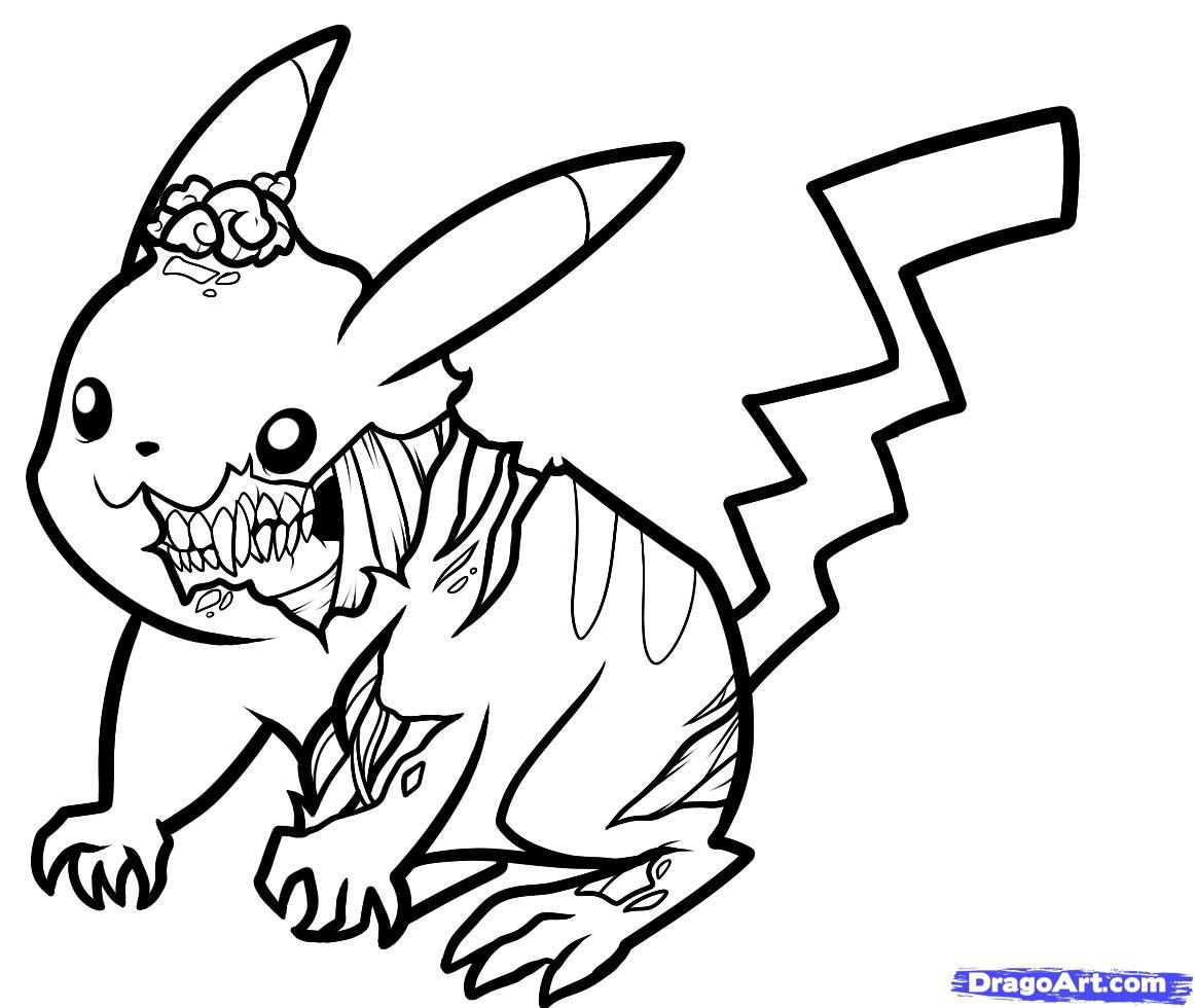 zombie pokemon coloring pages zombie outline drawing at getdrawings free download coloring pokemon zombie pages